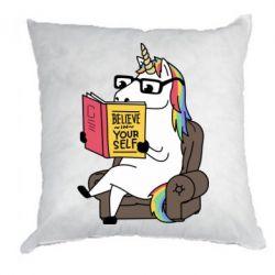 Подушка Unicorn Believe in yourself