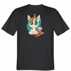 Мужская футболка Unicorn Christmas