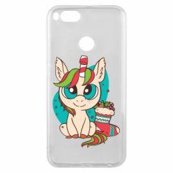 Чехол для Xiaomi Mi A1 Unicorn Christmas
