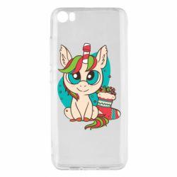 Чехол для Xiaomi Mi5/Mi5 Pro Unicorn Christmas