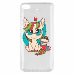 Чехол для Xiaomi Mi 5s Unicorn Christmas