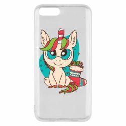 Чехол для Xiaomi Mi6 Unicorn Christmas