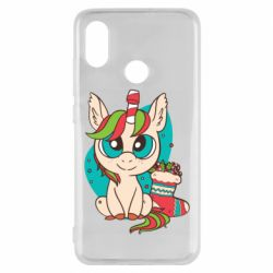 Чехол для Xiaomi Mi8 Unicorn Christmas