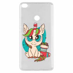 Чехол для Xiaomi Mi Max 2 Unicorn Christmas