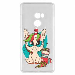 Чехол для Xiaomi Mi Mix 2 Unicorn Christmas