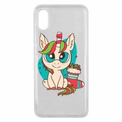 Чехол для Xiaomi Mi8 Pro Unicorn Christmas