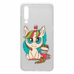 Чехол для Xiaomi Mi9 Unicorn Christmas