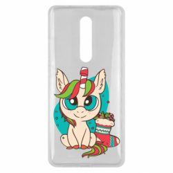 Чехол для Xiaomi Mi9T Unicorn Christmas