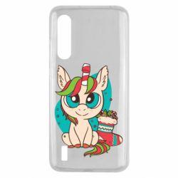 Чехол для Xiaomi Mi9 Lite Unicorn Christmas