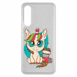 Чехол для Xiaomi Mi9 SE Unicorn Christmas