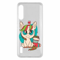 Чохол для Xiaomi Mi A3 Unicorn Christmas