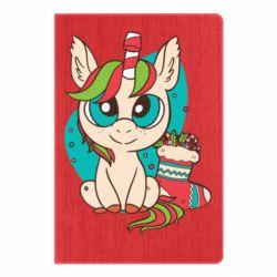 Блокнот А5 Unicorn Christmas
