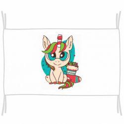 Флаг Unicorn Christmas