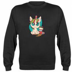 Реглан (свитшот) Unicorn Christmas