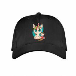 Детская кепка Unicorn Christmas