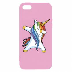 Купить SWAG ∆, Чехол для iPhone5/5S/SE Unicorn dabbing, FatLine