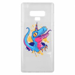 Чехол для Samsung Note 9 Unicorn dinosaur