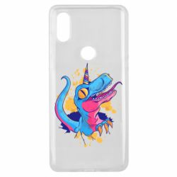 Чехол для Xiaomi Mi Mix 3 Unicorn dinosaur