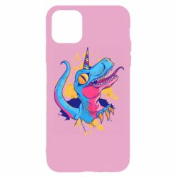 Чехол для iPhone 11 Pro Unicorn dinosaur