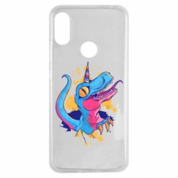Чехол для Xiaomi Redmi Note 7 Unicorn dinosaur