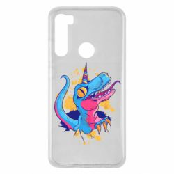 Чехол для Xiaomi Redmi Note 8 Unicorn dinosaur