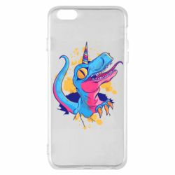 Чехол для iPhone 6 Plus/6S Plus Unicorn dinosaur