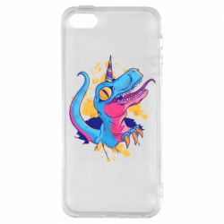 Чехол для iPhone5/5S/SE Unicorn dinosaur