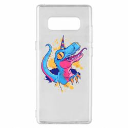 Чехол для Samsung Note 8 Unicorn dinosaur