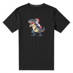 Чоловіча стрейчева футболка Unicorn on Thyrex