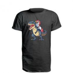 Подовжена футболка Unicorn on Thyrex