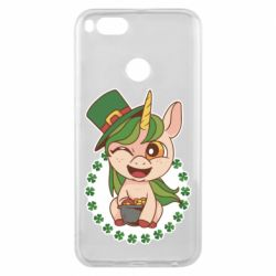 Чехол для Xiaomi Mi A1 Unicorn patrick day
