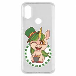 Чехол для Xiaomi Mi A2 Unicorn patrick day