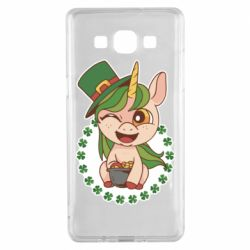 Чехол для Samsung A5 2015 Unicorn patrick day