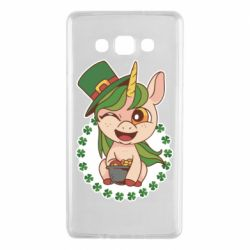 Чехол для Samsung A7 2015 Unicorn patrick day