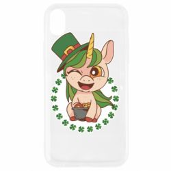 Чехол для iPhone XR Unicorn patrick day