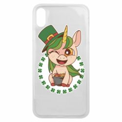 Чехол для iPhone Xs Max Unicorn patrick day