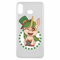 Чехол для Samsung A6s Unicorn patrick day