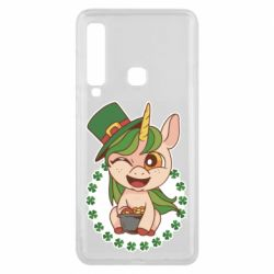Чехол для Samsung A9 2018 Unicorn patrick day