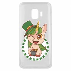 Чехол для Samsung J2 Core Unicorn patrick day