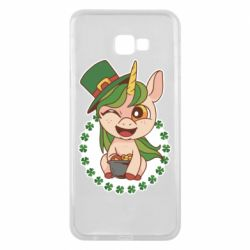 Чехол для Samsung J4 Plus 2018 Unicorn patrick day
