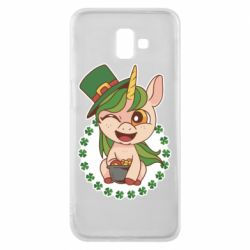 Чехол для Samsung J6 Plus 2018 Unicorn patrick day