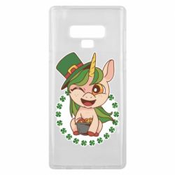 Чехол для Samsung Note 9 Unicorn patrick day
