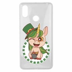 Чехол для Xiaomi Mi Max 3 Unicorn patrick day