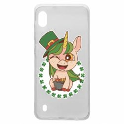 Чехол для Samsung A10 Unicorn patrick day