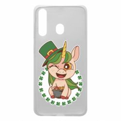 Чехол для Samsung A60 Unicorn patrick day