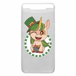 Чехол для Samsung A80 Unicorn patrick day