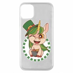 Чехол для iPhone 11 Pro Unicorn patrick day