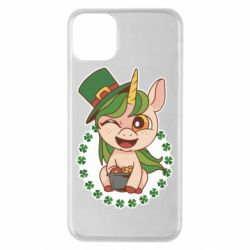 Чехол для iPhone 11 Pro Max Unicorn patrick day