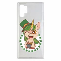 Чехол для Samsung Note 10 Plus Unicorn patrick day