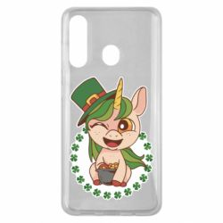 Чехол для Samsung M40 Unicorn patrick day
